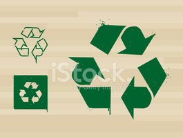Stencil,Recycling,Symbol,Re...