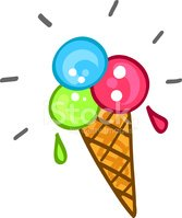 Ice Cream,Cartoon,Symbol,Fo...