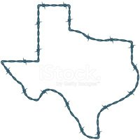 Texas,Barbed Wire,Wire,Outl...