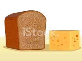 Bread,Cheese,Illustrations ...