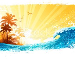 Beach,Palm Tree,Tropical Cl...