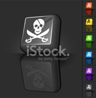 Pirate,Yellow,Human Skull,V...