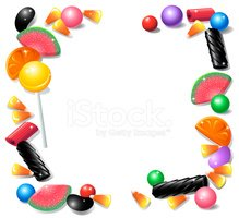 Candy,Frame,Liquorice Candy...