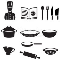 Cooking,Chef,Symbol,Cookboo...