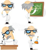 Scientist,Cartoon,Character...