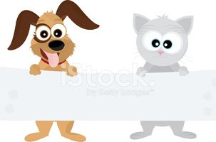 Domestic Cat,Dog,Cartoon,Pu...