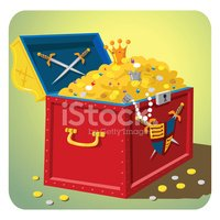 Treasure Chest,Jewelry,Coin...