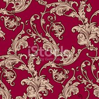 Baroque Style,Pattern,Victo...