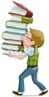 Study,Book,Child,Cartoon,Re...