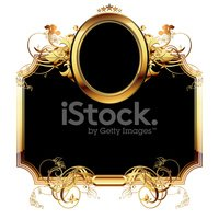 Frame,Gold Colored,Shield,S...
