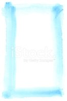 Picture Frame,Blue,Watercol...