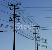 Telephone Pole,Electricity,...