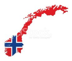 Norway,Map,Flag,Norwegian F...