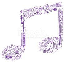 Musical Note,Music,Doodle,N...