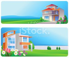 House,Real Estate,Banner,Re...