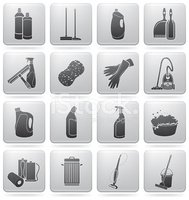 Cleaning,Symbol,Computer Ic...