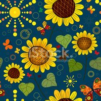 Sunflower,Butterfly - Insec...