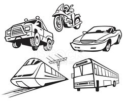Train,Bus,Car,Motorcycle,Tr...