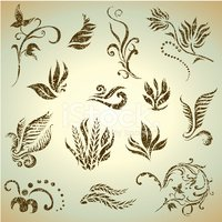 Wheat,Symbol,Flower,Old-fas...