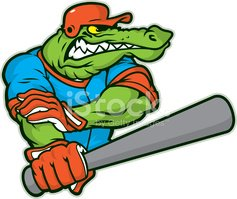 Alligator,Baseball - Sport...