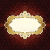 Frame,Silk,Gold Colored,Ban...