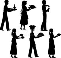 Chef,Silhouette,Food,Food S...