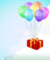 Balloon,Wrapping Paper,Gift...