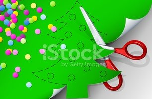 Cutting,Christmas,Cut Out,P...