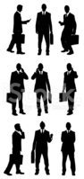 Businessman,Men,Silhouette,...