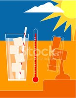 Thermometer,Summer,Heat - T...