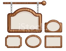 Wood - Material,Sign,Pictur...
