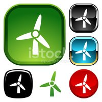 Turbine,Wind Power,Symbol,W...