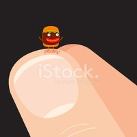 Fingernail,Hamburger,Human ...