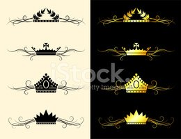 Crown,Design,Vector,Ornate,...