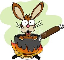 Rabbit - Animal,Cooking Pan...