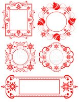 Victorian Style,Frame,Label...