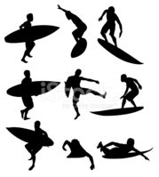Surfing,Surfboard,Isolated,...