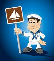 Sailor,Mascot,Nautical Vess...