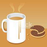 Cookie,Cuppa,Tea - Hot Drin...