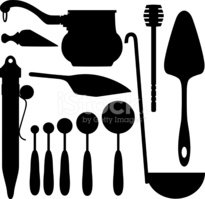 Ladle,Serving Scoop,Vector,...