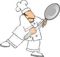 Chef,Cartoon,Spoon,Ilustrat...