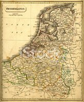 Map,Netherlands,Cartography...
