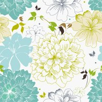 Flower,Pattern,Seamless,Flo...