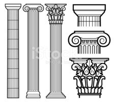 Architectural Column,Greek ...