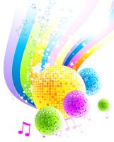 Disco,Music,Backgrounds,Whi...