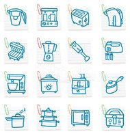 Appliance,Symbol,Blender,Ic...