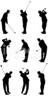 Golf,Silhouette,Backgrounds...