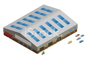 Warehouse,Isometric,Factory...