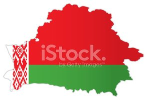 Belarus,Map,Flag,National F...