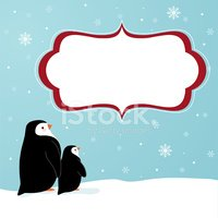 Penguin,Snowflake,Sign,Youn...